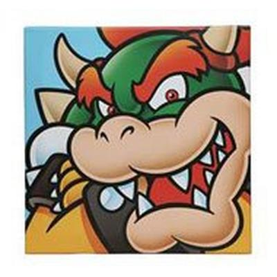 Super Mario Bros. Bowser Canvas