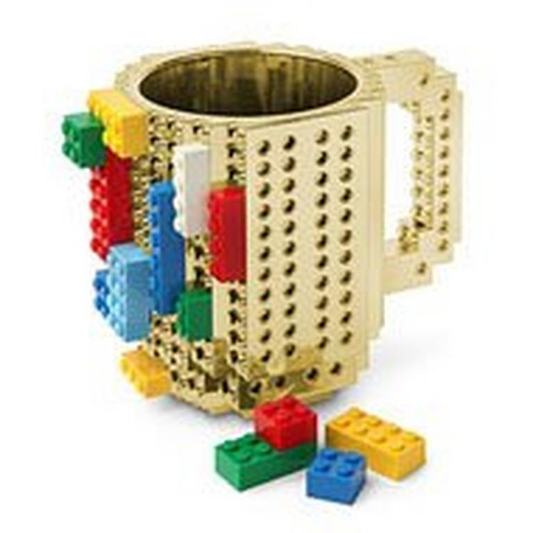Build On Brick Mug Mediumetallic