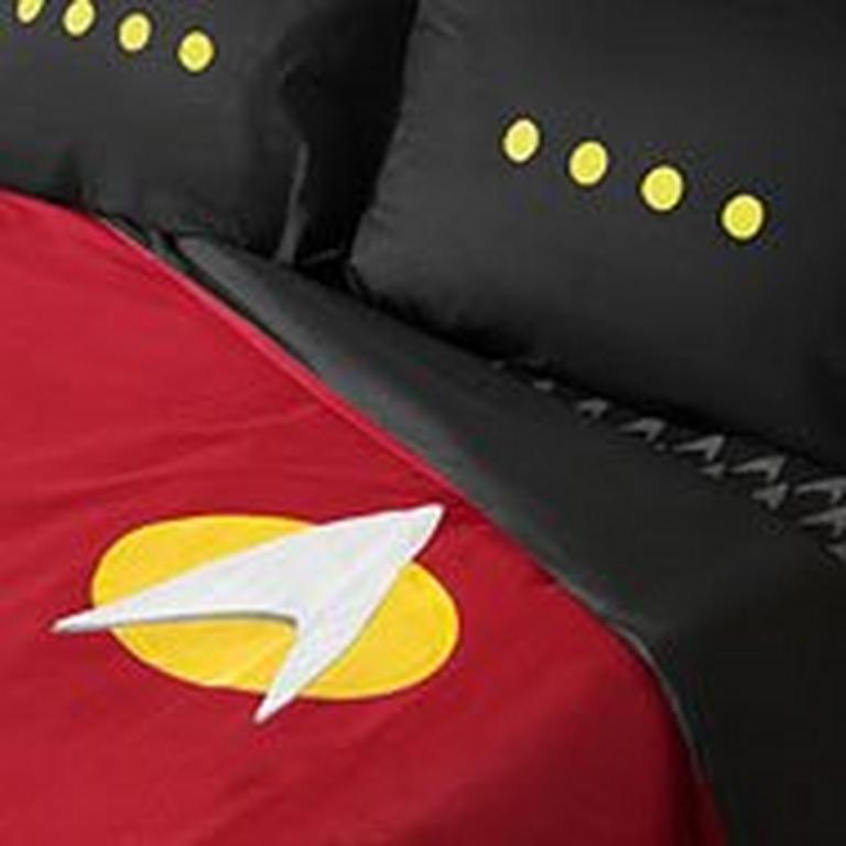 Star Trek TNG Uniform Bedding Set Sheets  Twin XL