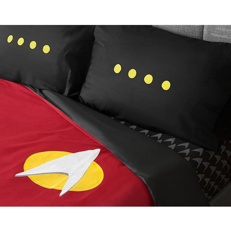 Star Trek The New Generation Uniform Bedding Set Duvet Cover