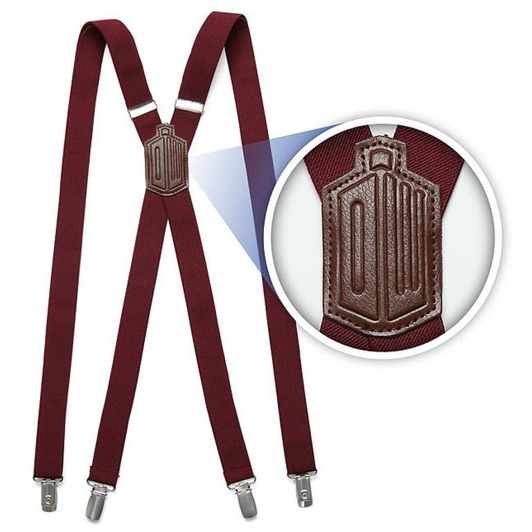 Doctor Who 11th Doctor's Suspenders