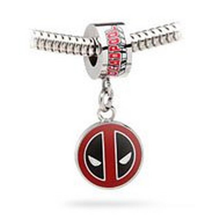 Deadpool Logo Dangle Charm Bead