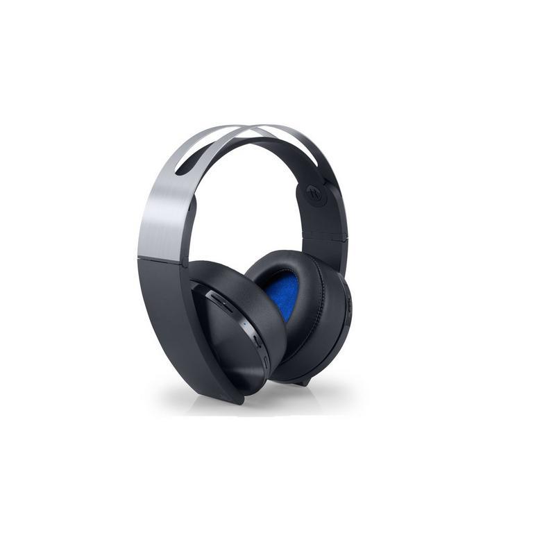 PlayStation 4 Platinum Wireless Headset | PlayStation 4 | GameStop
