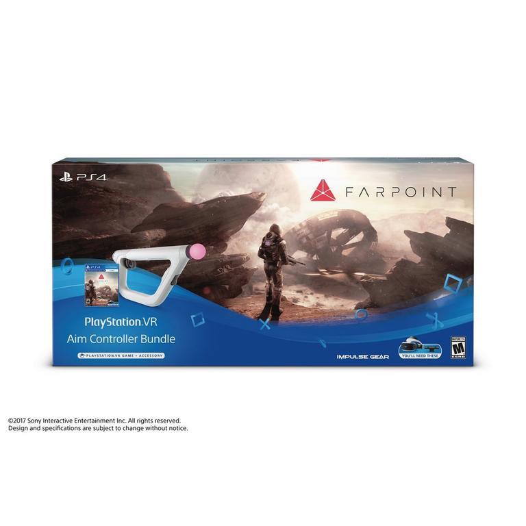 5f9d6fa1f1 Farpoint VR with Aim Controller BundlePlayStation 4 | GameStop