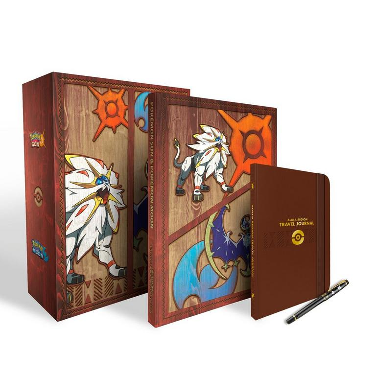Pokemon Sun and Pokemon Moon Official Strategy Guide Collector's Vault