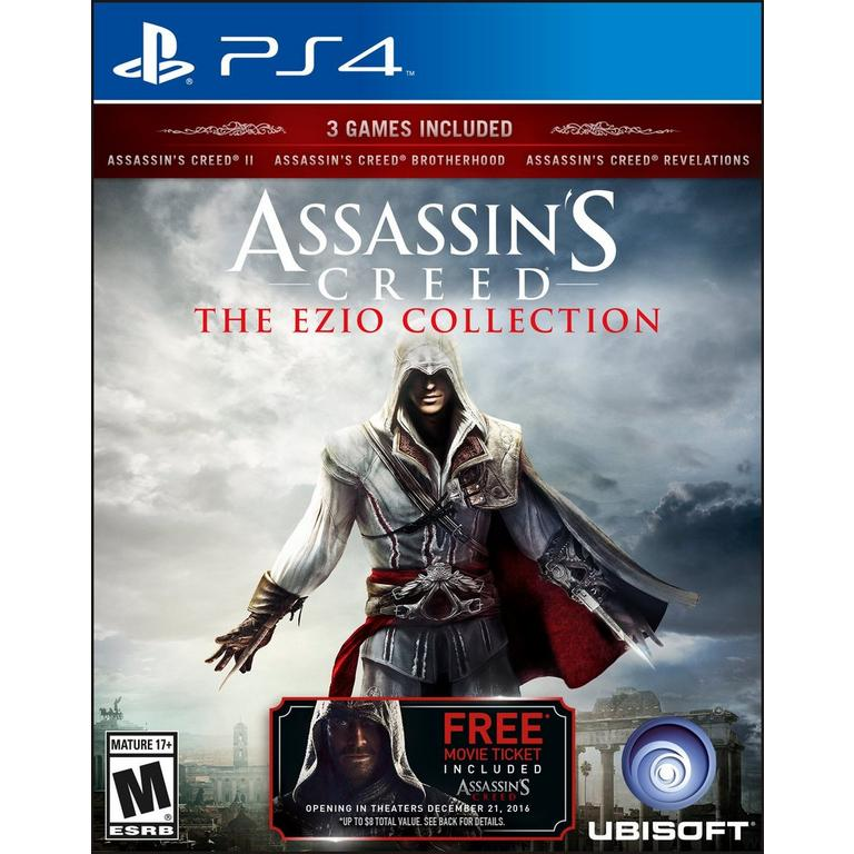 Assassin S Creed The Ezio Collection Playstation 4 Gamestop