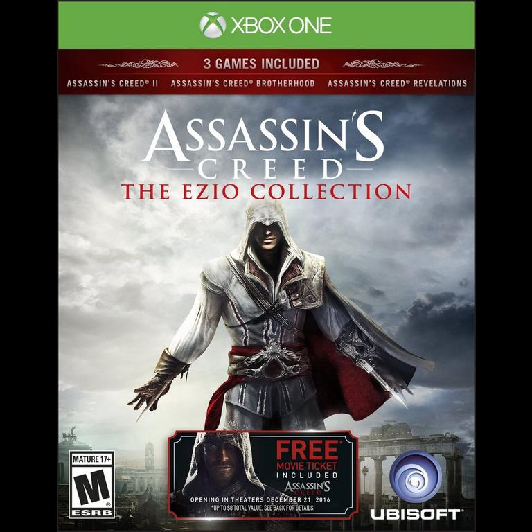 Assassin S Creed The Ezio Collection Xbox One Gamestop