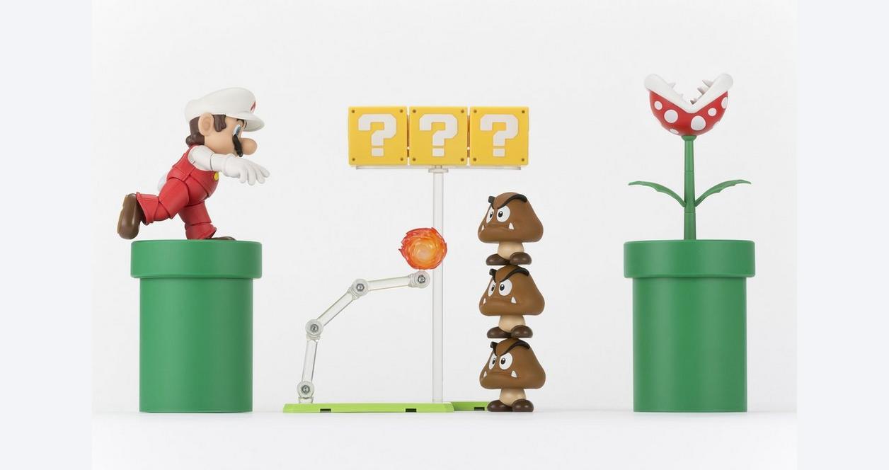 S.H.Figuarts Fire Mario Figure