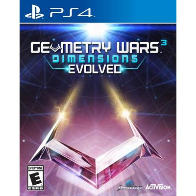 Geometry Wars 3 Dimensions Evolved