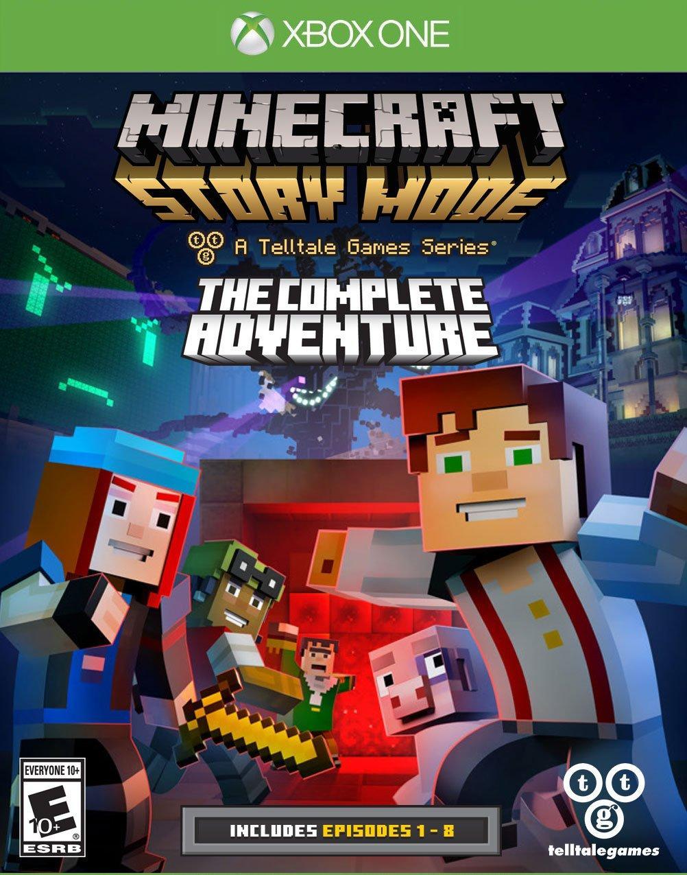 Minecraft: Story Mode - Complete Adventure | Xbox One | GameStop