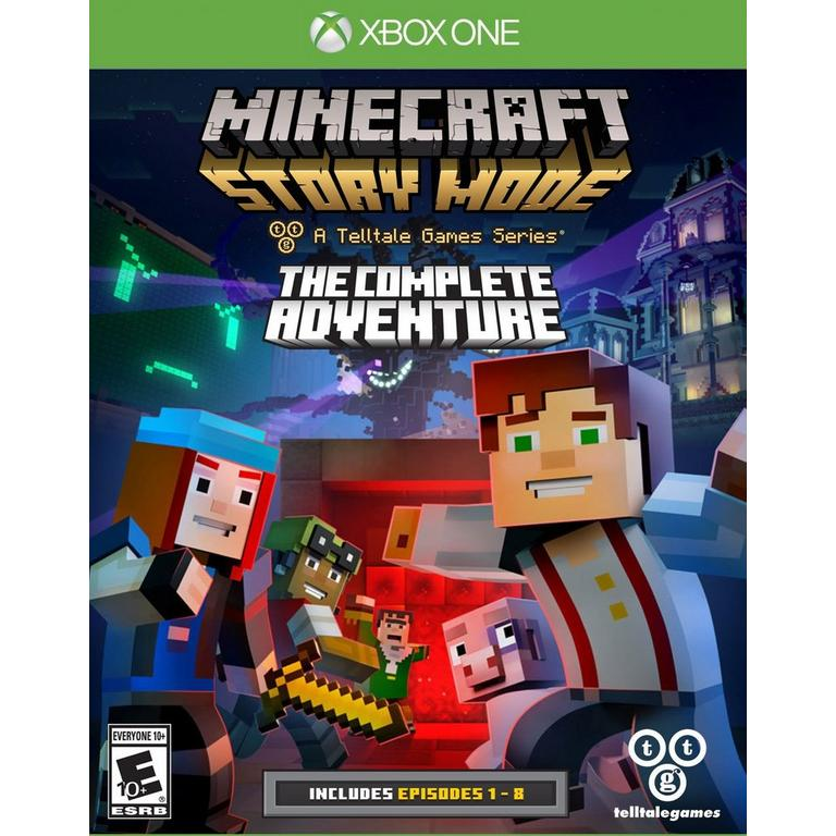 Minecraft Story Mode The Complete Adventure Xbox One Gamestop