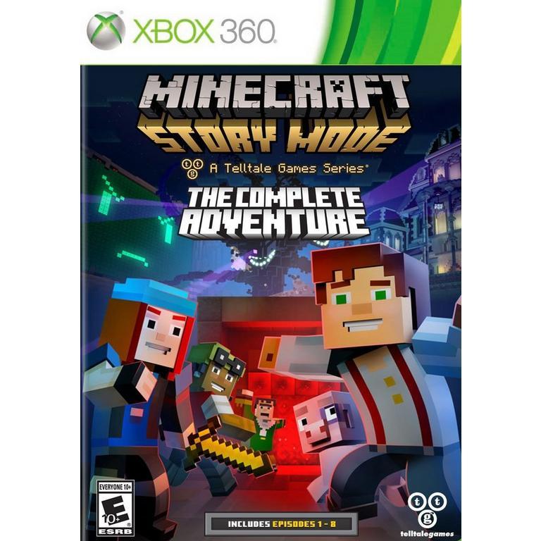 Minecraft: Story Mode The Complete Adventure  Xbox 360  GameStop