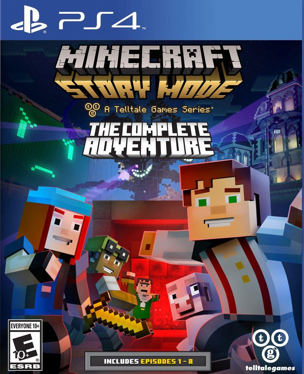 Minecraft: Story Mode - Complete Adventure | PlayStation 4 | GameStop