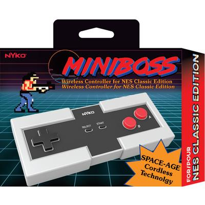 Miniboss Wireless Controller for NES Classic Edition