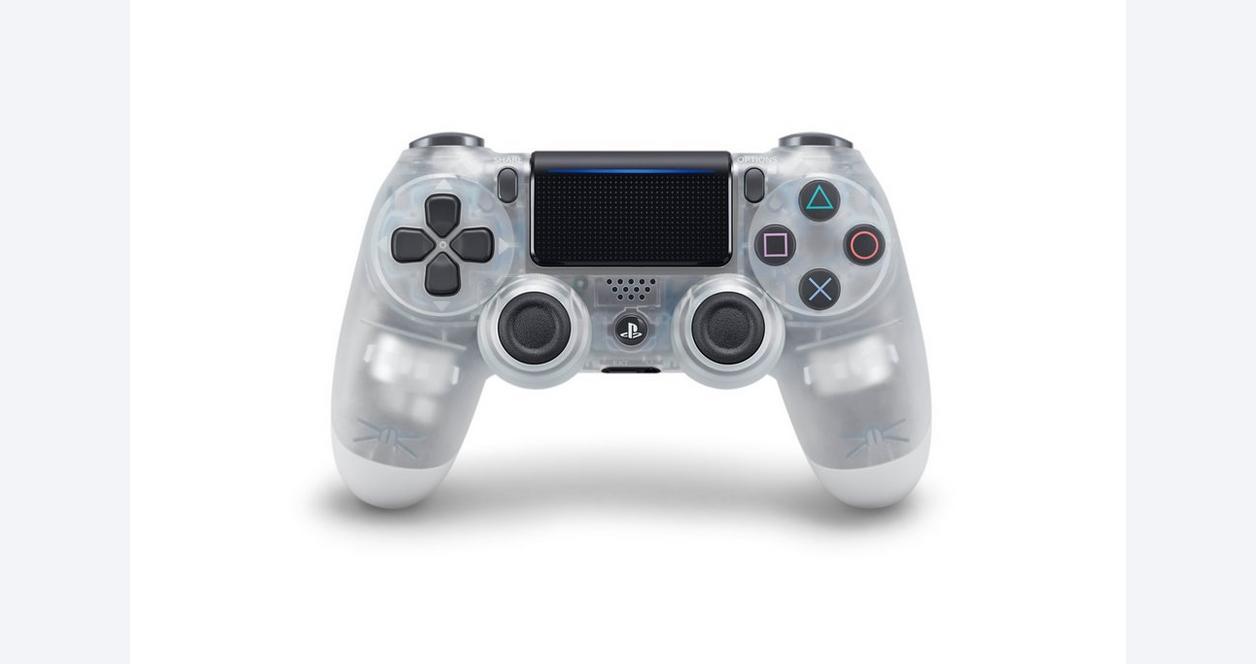 Sony DUALSHOCK 4 Wireless Controller - Crystal