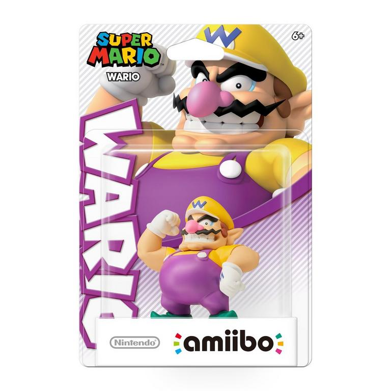 Wario Super Mario amiibo Figure