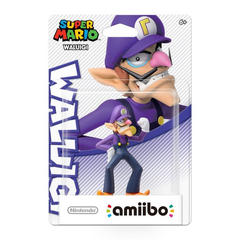Super Mario Waluigi amiibo Figure
