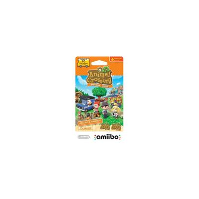 amiibo Cards: Animal Crossing New Leaf 6 Pack