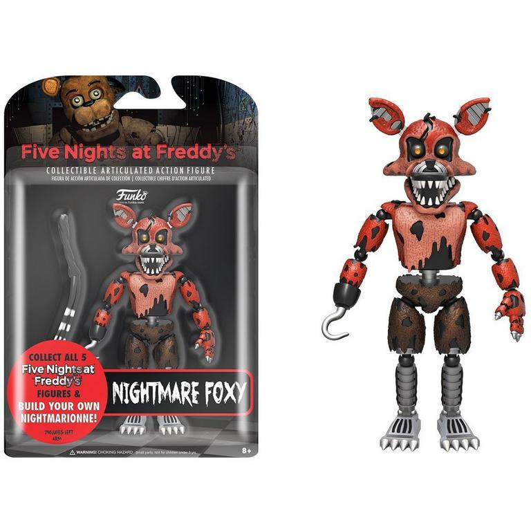 Five Nights at Freddy's: Nightmare Foxy Action Figure