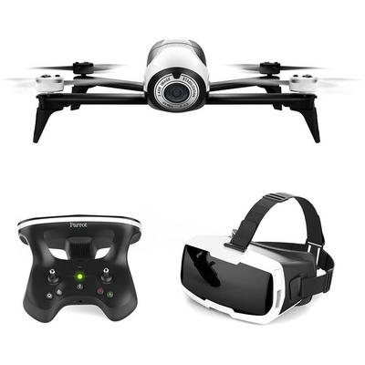 Parrot BeBop Drone 2 with FPV Bundle - White