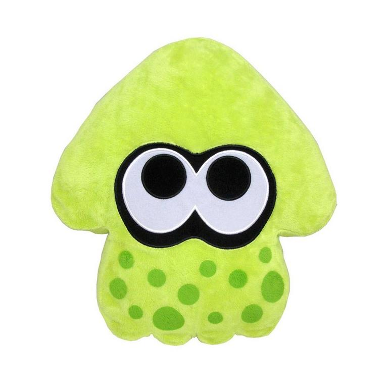 Splatoon Green Pillow