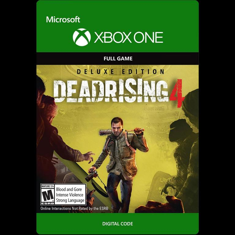 Dead Rising 4 Deluxe Edition Xbox One Gamestop