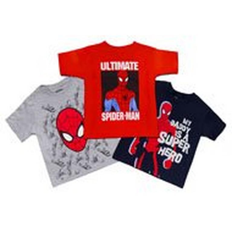 Spider-Man Toddlers Tees 3 Pack