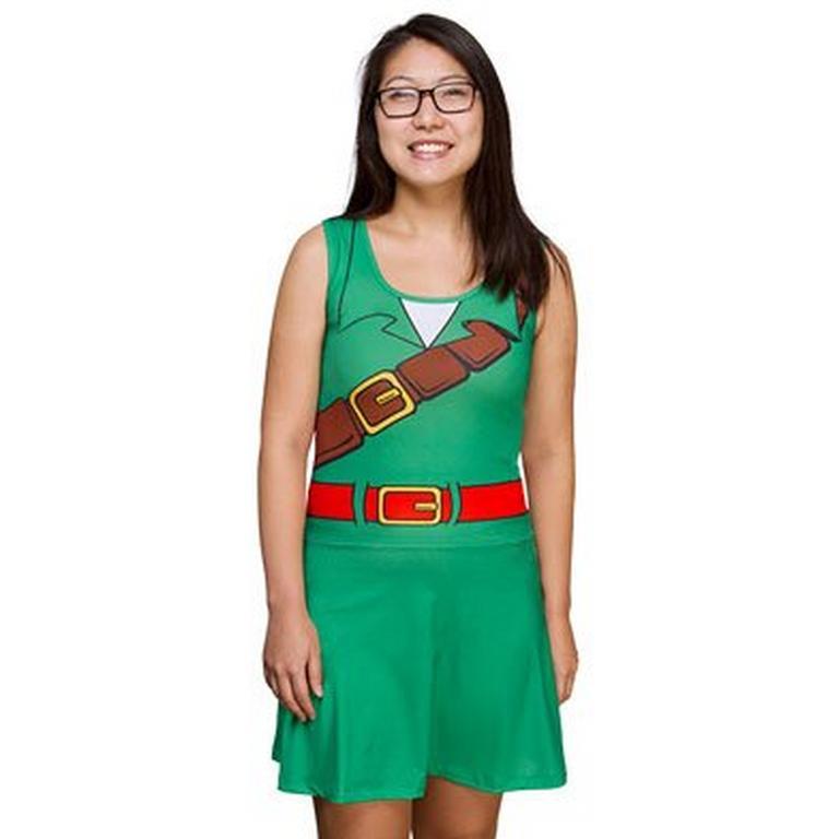 The Legend of Zelda Link Drop Waist Dress