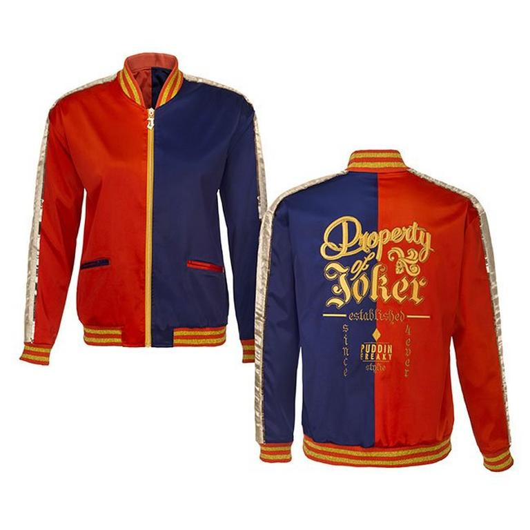 Suicide Squad Harley Quinn Replica Bomber Jacket