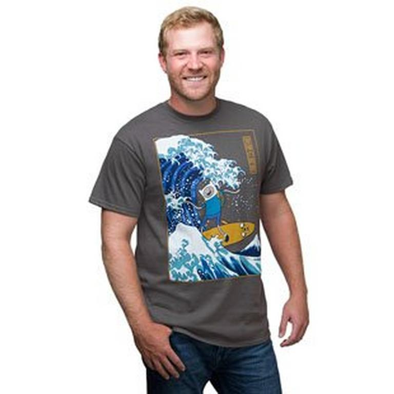 Adventure Time Japanese Wave T-Shirt