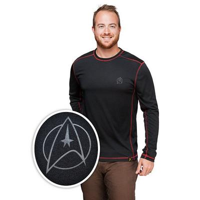 Star Trek NCC 1701 Long Sleeve Tech Shirt