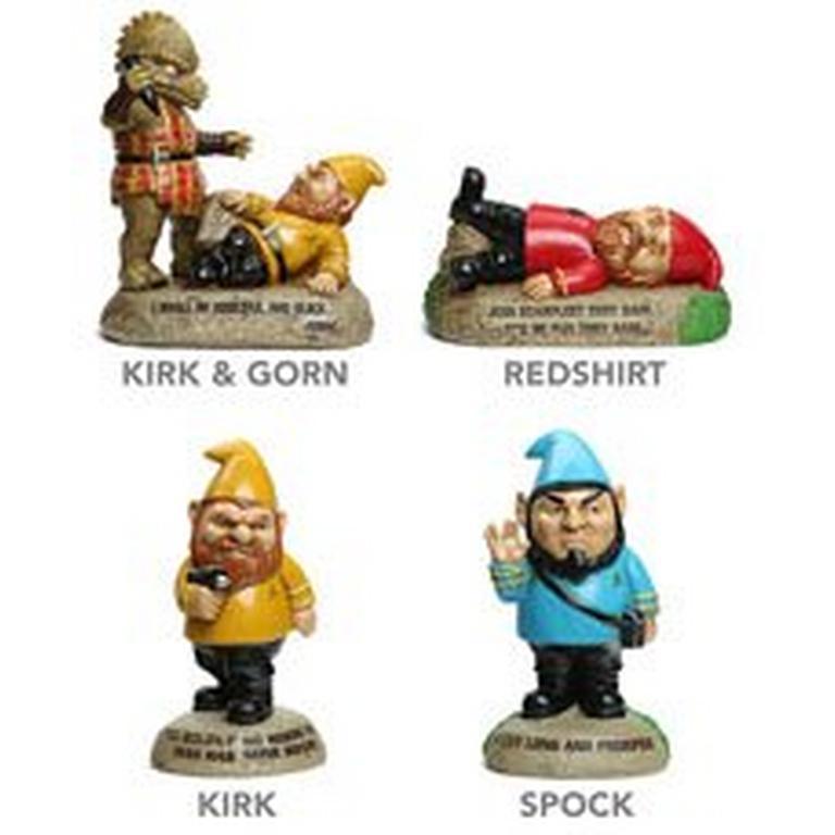 Star Trek Garden Gnomes Kirk