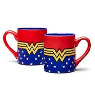 Wonder Woman Glitter 14oz Mug