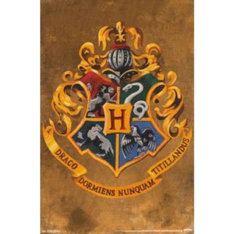 Harry Potter Posters Hogwarts Crest