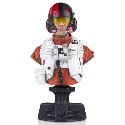 Star Wars Poe Dameron Mini Bust Statue - Only at GameStop