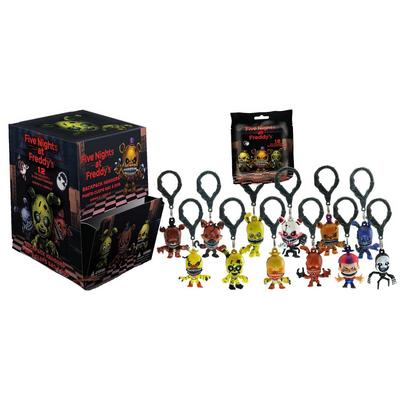 Five Nights at Freddy's Backpack Hangers Series 2 Blind Bag