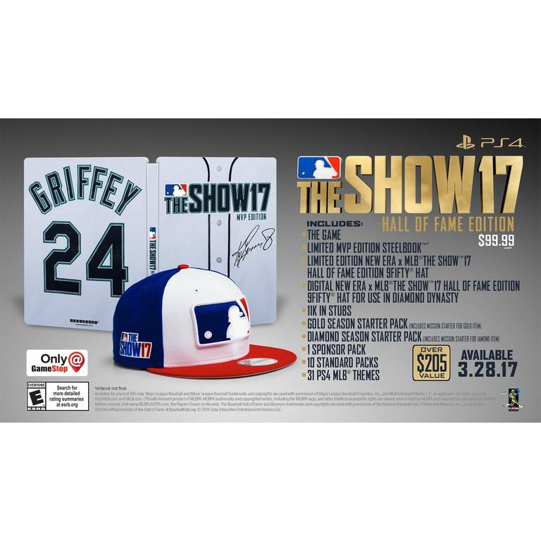 MLB The Show 17 Hall of Fame Edition - Only at GameStop