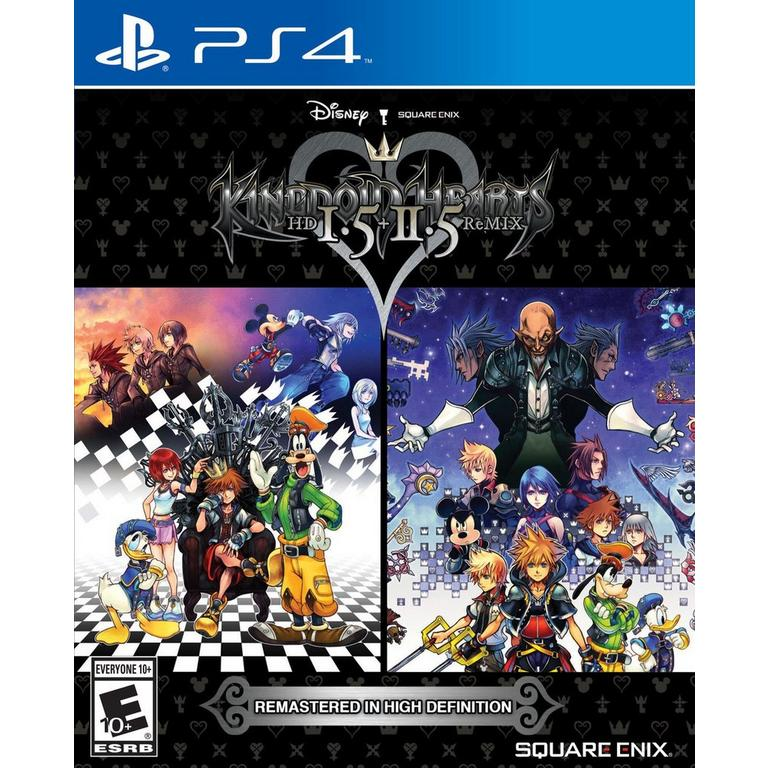 Kingdom Hearts 1 5 + 2 5 Remix | PlayStation 4 | GameStop