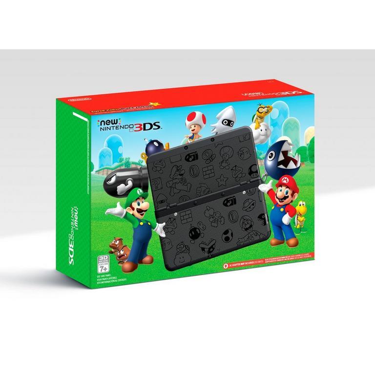 Nintendo New 3DS Black Super Mario