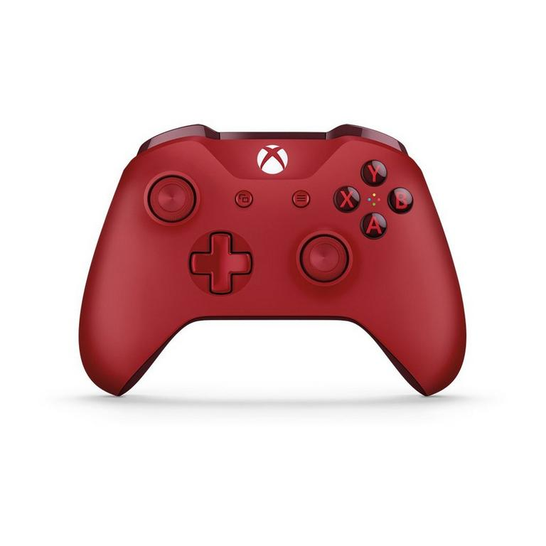 Microsoft Xbox One Red Wireless Controller