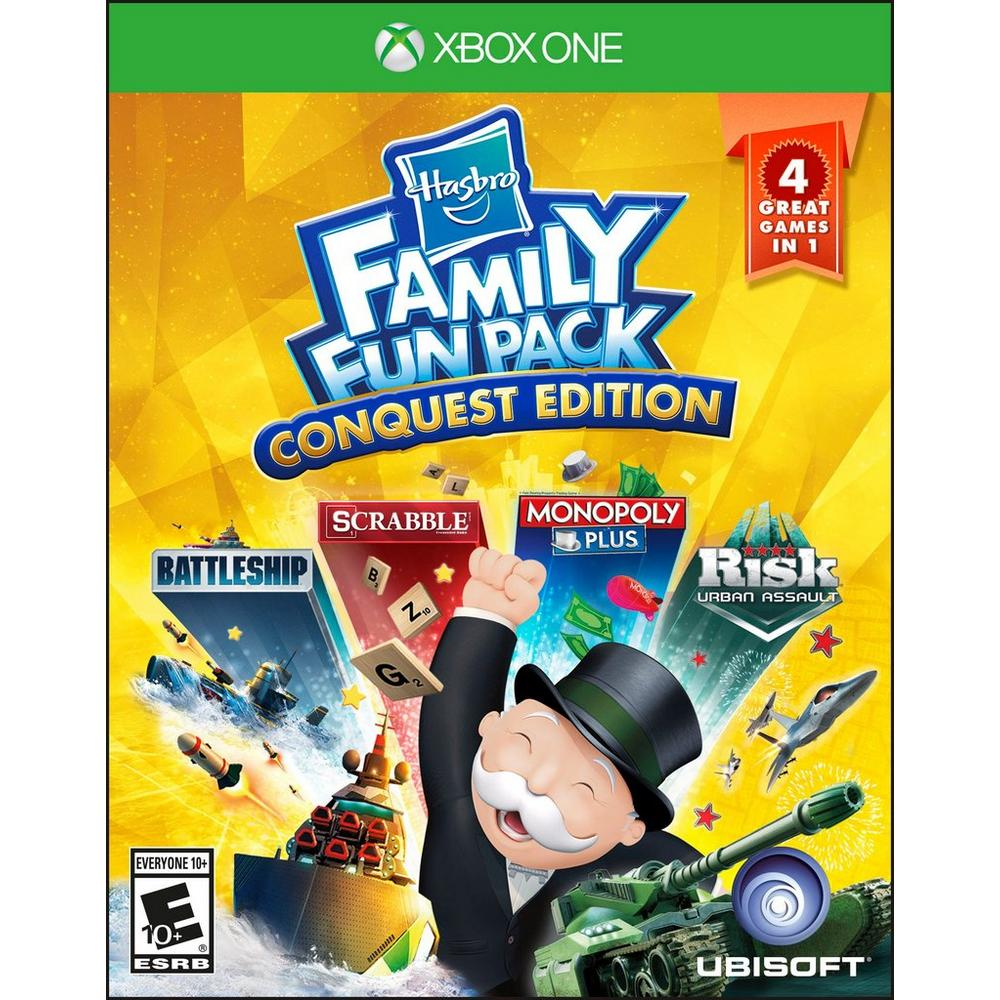 Hasbro Family Fun Pack Conquest Edition | Xbox One | GameStop