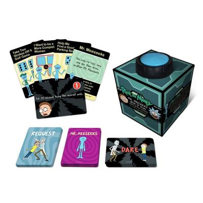 Mr. Meeseeks' Box O' Fun The Rick and Morty Dice & Dares Game