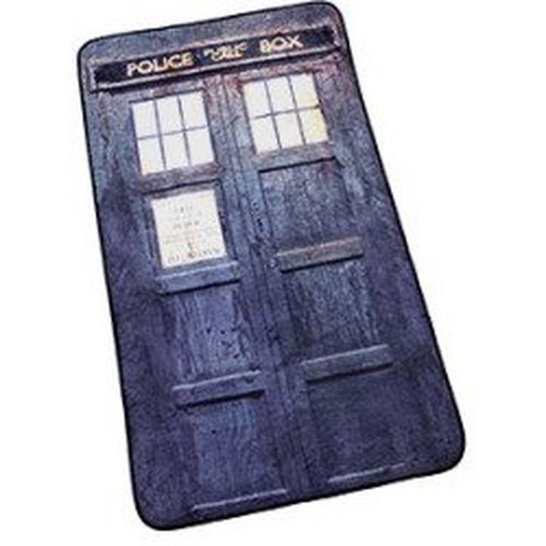 Doctor Who TARDIS Distressed Blanket