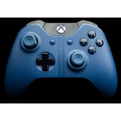 Xbox One Forza Blue Wireless Controller