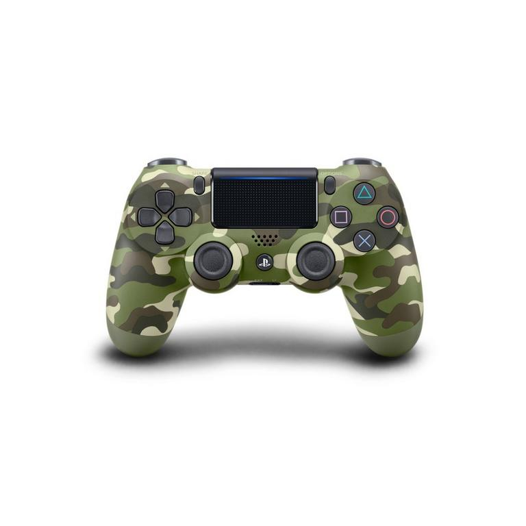 Sony Computer Entertainment Sony DualShock 4 Wireless Controller - Green Camo PS4 Available At GameStop Now!