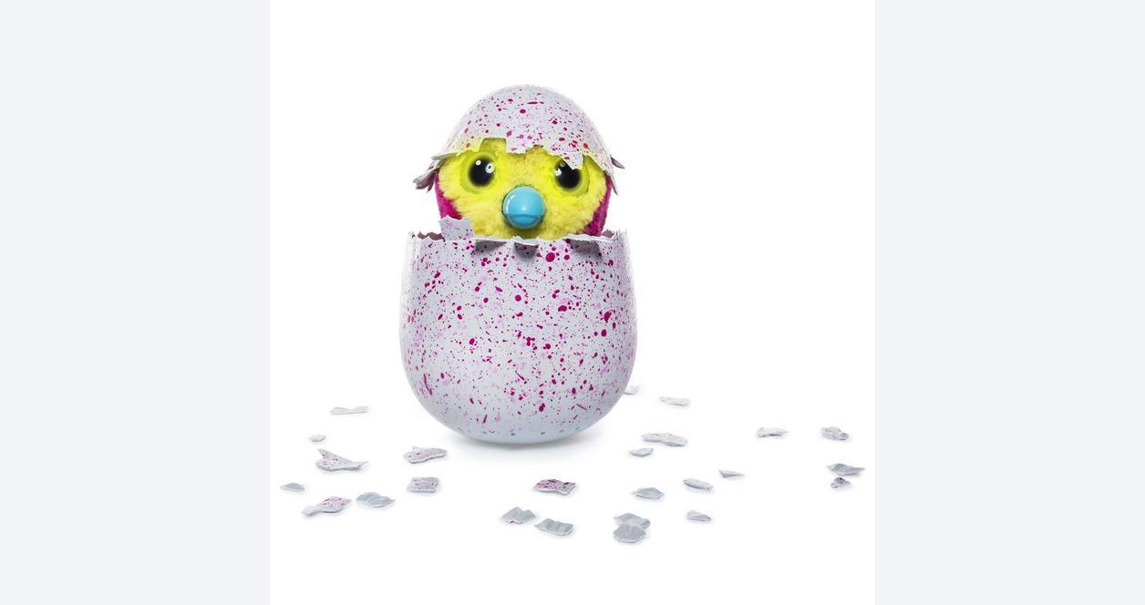 Hatchimal Pengualas Pink Egg