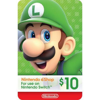 Nintendo eShop $10 eCard