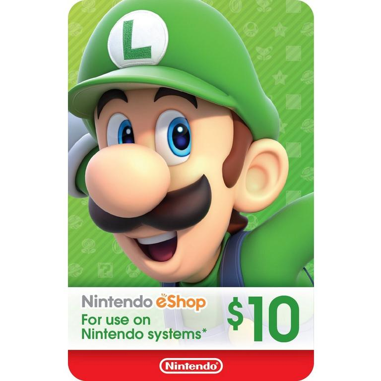 Nintendo eShop Digital Card $10 Nintendo Switch Download Now At GameStop.com!