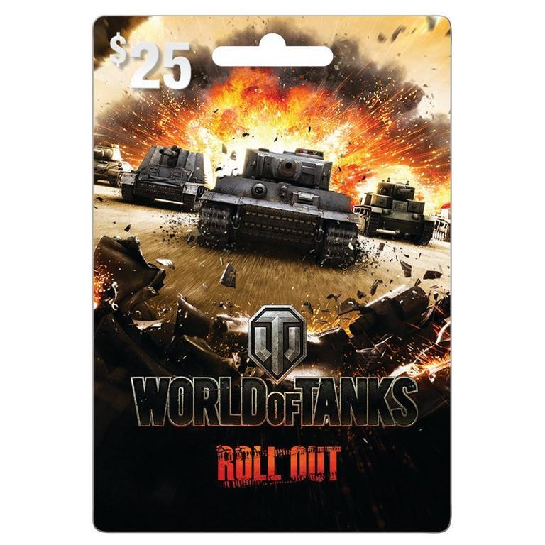 World of Tanks $25 eCard