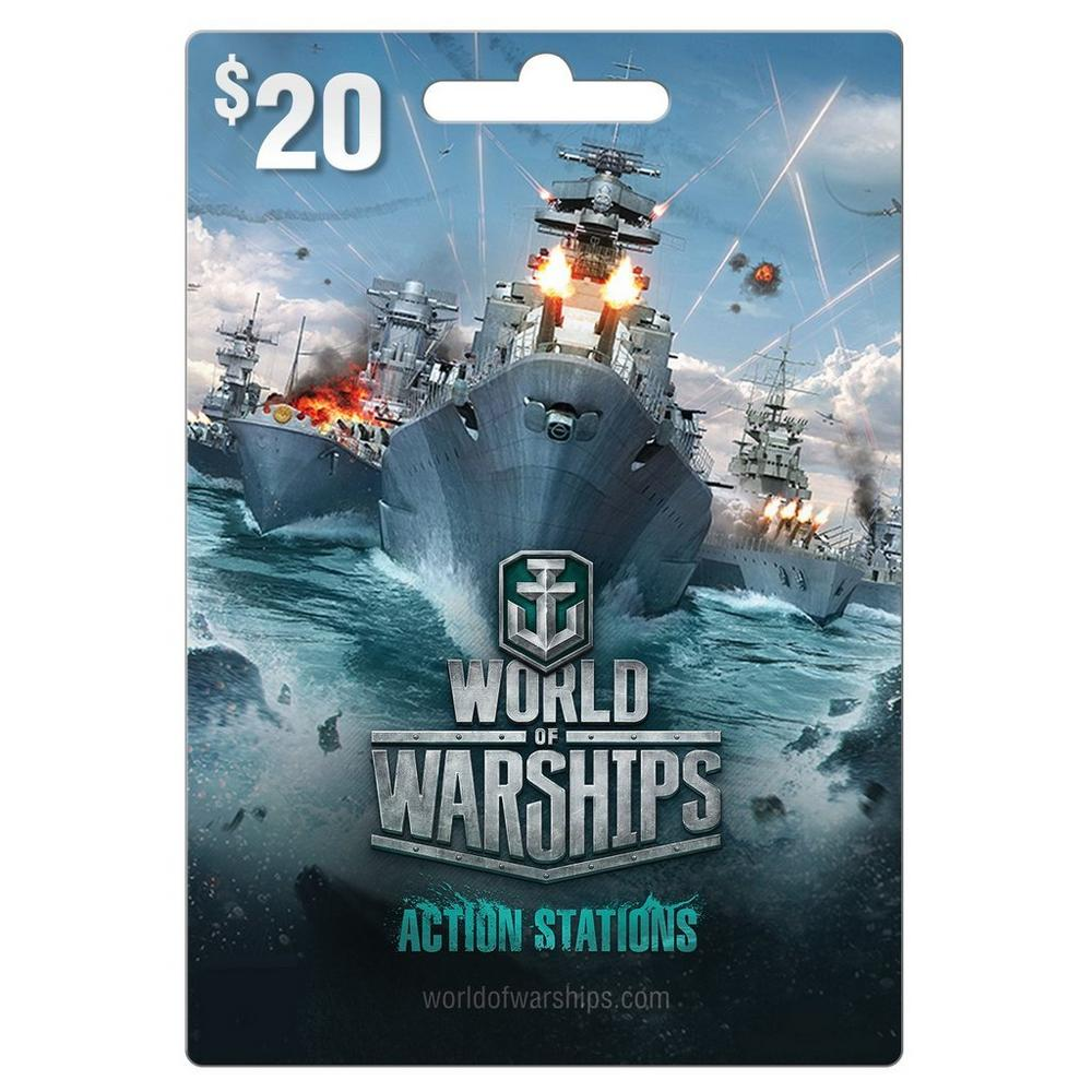 World of Warship $20 eCard | GameStop